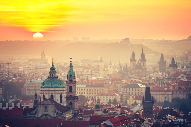 Vienna, Budapest e Praga