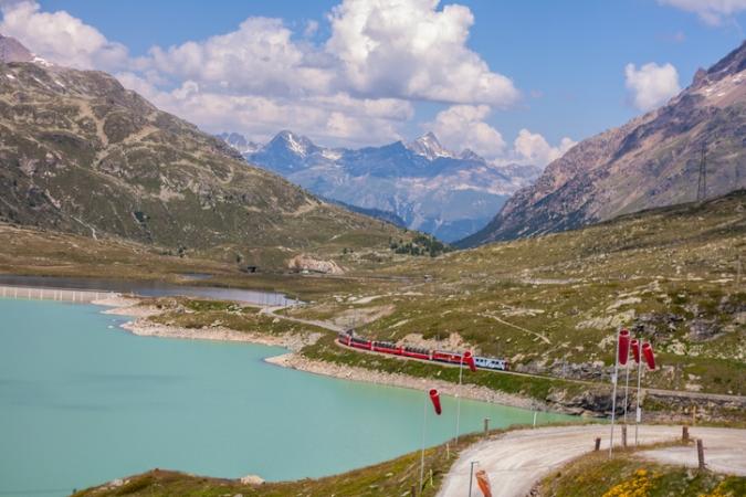 Valtellina e trenino rosso Tour  Guidati